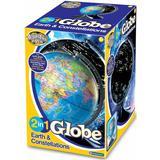 Eksperiment & Videnskab på tilbud Brainstorm 2 in 1 Globe Earth & Constellations