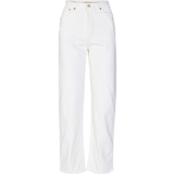 Dametøj Levi's Ribcage Straight Ankle Jeans - Cloud Over/Neutral