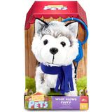 Interaktive legetøj på tilbud Happy Pets Walk Along Puppy Huskey
