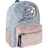 Tasker Disney Frost 2 Plush Backpack - Pink/Grey