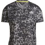 Adidas Fast Primeblue Graphic T-shirt Women - Grey Four/Multicolor