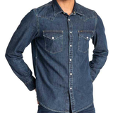 Lee Slim Fit Western Shirt - Blueprint