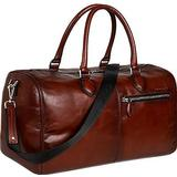 Bugatti Domus Travel Bag - Cognac