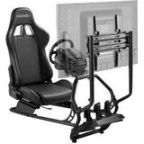 Gear4U Racing simulator cockpit - Black