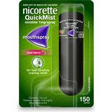 Nikotinspray Håndkøbsmedicin Nicorette QuickMist Cool Berry 1mg 150 doser
