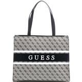 Guess Monique 4G Logo Shopper - Grey Multi