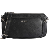 Tasker Guess Dayane Double Pouch Crossbody - Black