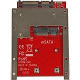 Msata adapter Ukategoriseret StarTech.com mSATA SSD to 2.5in SATA Adapter