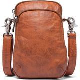 Brun - Læder Håndtasker Depeche Mobile Bag - Cognac