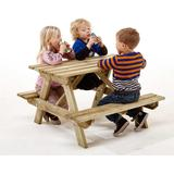 Bord bænkesæt Havemøbler Nordic Play Active Bord/bænkesæt (børn) Bord/bænkesæt