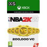 Nba 2k21 Spil tilbehør Microsoft NBA 2K21 - 200000 VC - Xbox One