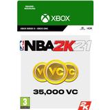 Nba 2k21 Spil tilbehør Microsoft NBA 2K21 - 35000 VC - Xbox One