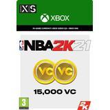 Nba 2k21 Spil tilbehør Microsoft NBA 2K21 - 15000 VC - Xbox One