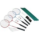 Spring Summer Badminton Set 4 Players