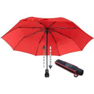 EuroSchirm Light Trek Automatic Umbrella Red