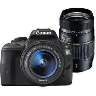 Canon EOS 100D + 18-55mm IS STM + 75-300mm