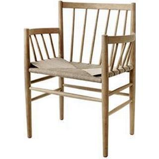 Fdb Design J81 Køkkenstol, Stol med armlæn