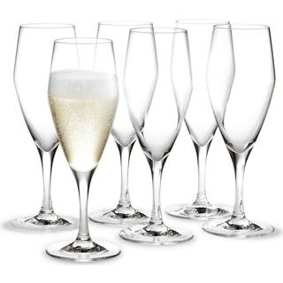 Holmegaard Perfection Champagneglas 23 cl 6 stk