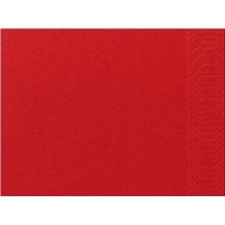 Duni 1 Layer Table Setting Napkin Red