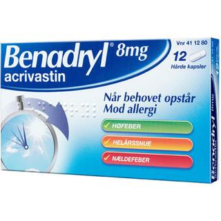 Benadryl 8mg 12stk
