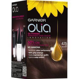 Garnier Olia Permanent Hair Colour 4.15 Ash Mahogany