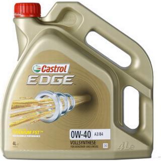 Castrol Edge Titanium FST 0W-40 A3/B4 4L Motorolie
