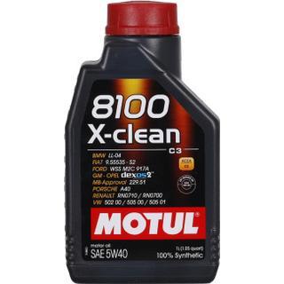 Motul 8100 X-clean 5W-40 5L Motorolie