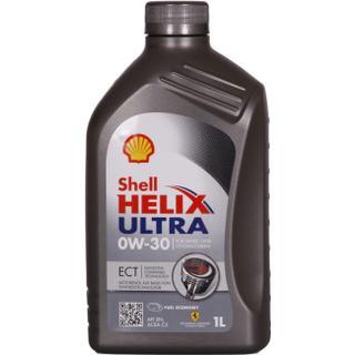 Shell Helix Ultra ECT 0W-30 1L Motorolie