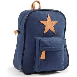 Smallstuff Canvas Backpack - Navy