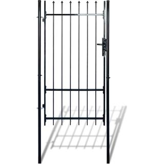 vidaXL Fence Gate with Spear Top 100x198cm
