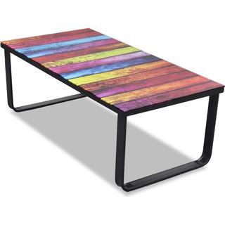 vidaXL 241175 Rainbow 90cm Sofabord