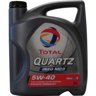 Total Quartz Ineo MC3 5W-40 5L Motorolie