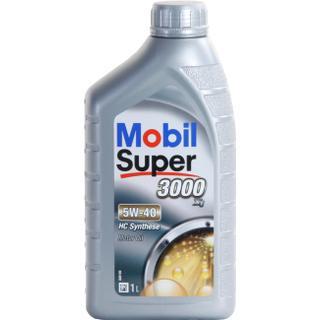 Mobil Super 3000 X1 5W-40 1L Motorolie