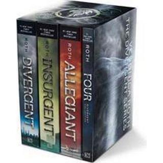 Divergent Series Set: Divergent, Insurgent, Allegiant, Four (Häftad, 2016), Häftad