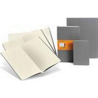 Moleskine Cahiers Light Warm Grey Large Plain Journal (Pocket, 2012), Pocket