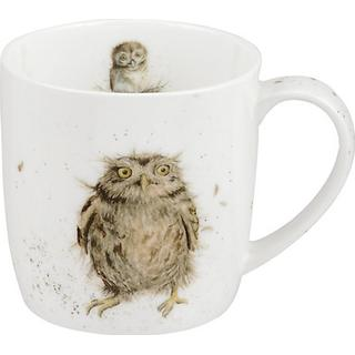 Royal Worcester Wrendale What a Hoot Krus 31 cl