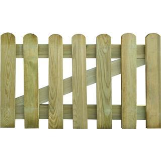 vidaXL Wooden Garden Gate 100x60cm