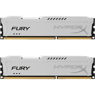 HyperX Fury White DDR3 1600MHz 2x4GB (HX318C10FWK2/8)
