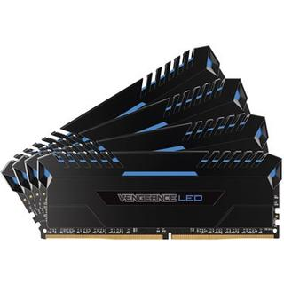 Corsair Vengeance LED Blue DDR4 3000MHz 4x8GB (CMU32GX4M4C3000C15B)