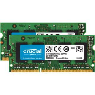 Crucial DDR3L 1600MHz 2x4GB for Mac (CT2K4G3S160BJM)