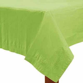 Amscan Paper Table Covers Kiwi Green Disposable Dinnerware
