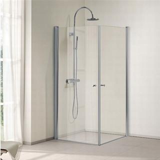 Bathlife Ideal Lige Brusehjørne 900x900mm