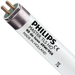 Philips Master TL5 HO 90 De Luxe Fluorescent Lamp 49W G5 950