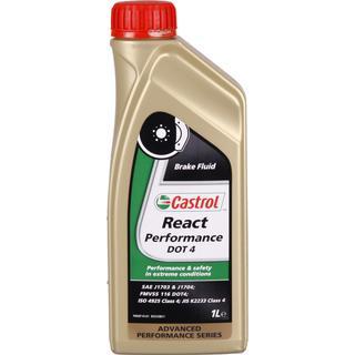 Castrol React Performance DOT 4 1L Bremsevæske