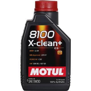 Motul 8100 X-clean Plus 5W-30 1L Motorolie