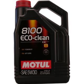 Motul 8100 Eco-Clean 5W-30 5L Motorolie
