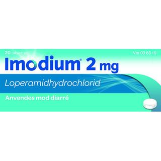 Imodium 2mg 20stk