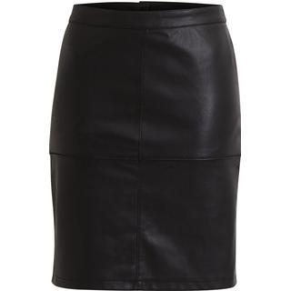 Vila Vipen Skirt - Black/Black
