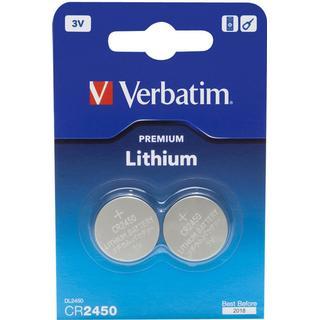 Verbatim CR2450 2-pack