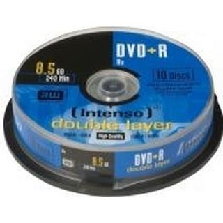 Intenso DVD+R 8.5GB 8x Spindle 10-Pack